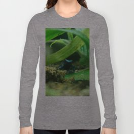 Poison (in Blue) Long Sleeve T-shirt