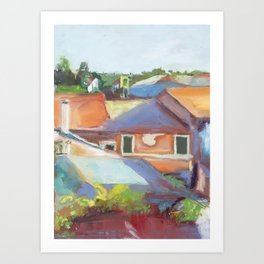 """""""Room with a View"""" Art Print"""