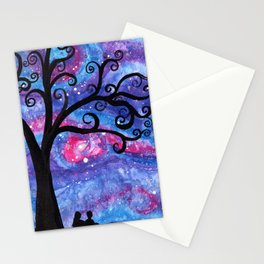 Under the Milky Way Stationery Cards