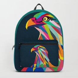 Eagle poly art  Backpack