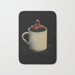 Space Coffee Bath Mat