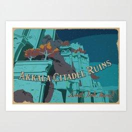 Akkala Citadel Ruins Art Print