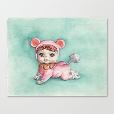 Baby Pootsy Canvas Print