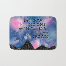 ACOMAF - Bow before no one Bath Mat