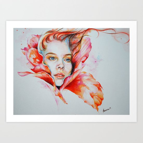 In bloom Art Print