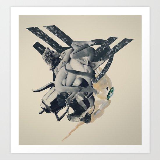 avalanche Art Print