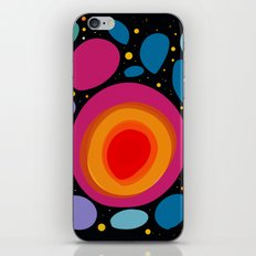 Galaxy Abstract Pattern Minimalist Decoration iPhone Skin