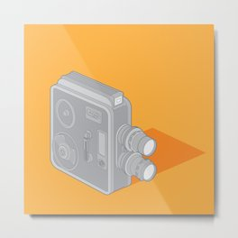 Meopta Camera Metal Print