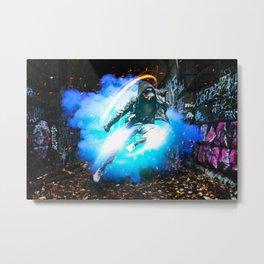 Urban Graffiti by GEN Z Metal Print
