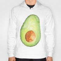 avocado Hoodies featuring Avocado by Bridget Davidson