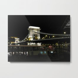 Budapest Loves You Metal Print