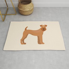 Irish Terrier Dog Rug