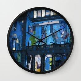 Fish in the Clocktower Wall Clock
