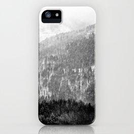 Snow landscape iPhone Case