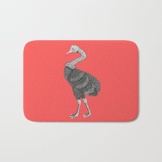 Greater Rhea Bath Mat