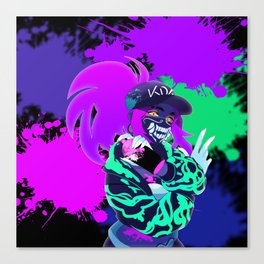 Akali - KDA - League of Legends Canvas Print