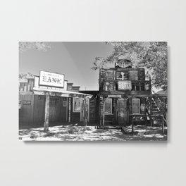 pioneer town Metal Print