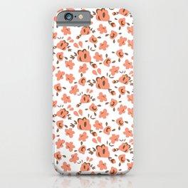 Pastel rose iPhone Case