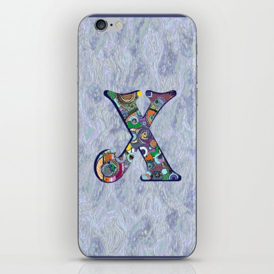The Letter X iPhone & iPod Skin