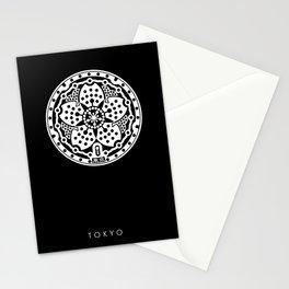 Tokyo Sakura Manhole Cover Stationery Cards