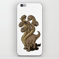 hydra iPhone & iPod Skins featuring Hydra by Jada Fitch