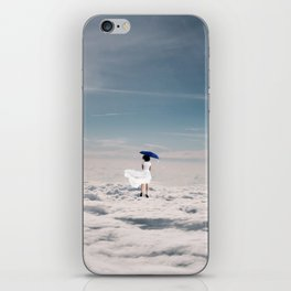 The Traveling Dewdr0p iPhone Skin