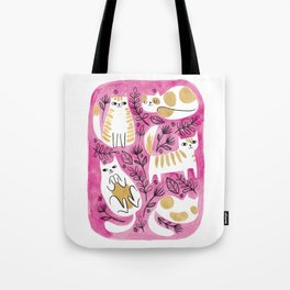 Fat Cats Tote Bag
