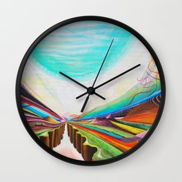Moon Valley Wall Clock
