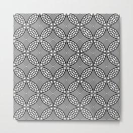Op Art 161 Metal Print