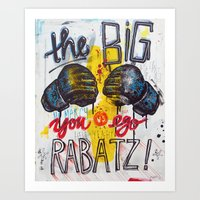 Big Rabatz Art Print