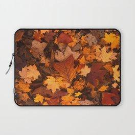 Autumn Fall Leaves Laptop Sleeve
