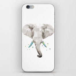 Geosafari | Elephant (White) iPhone Skin