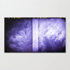 Lomographic Sky 3 Canvas Print