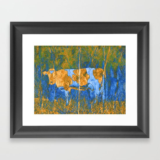 Vellum Framed Art Print