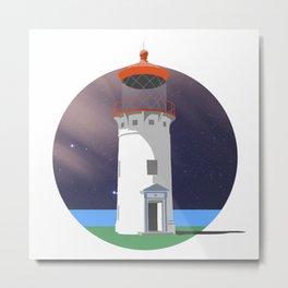 Hawaiian Lighthouse Metal Print