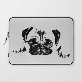 Pug dog Digital Art Laptop Sleeve