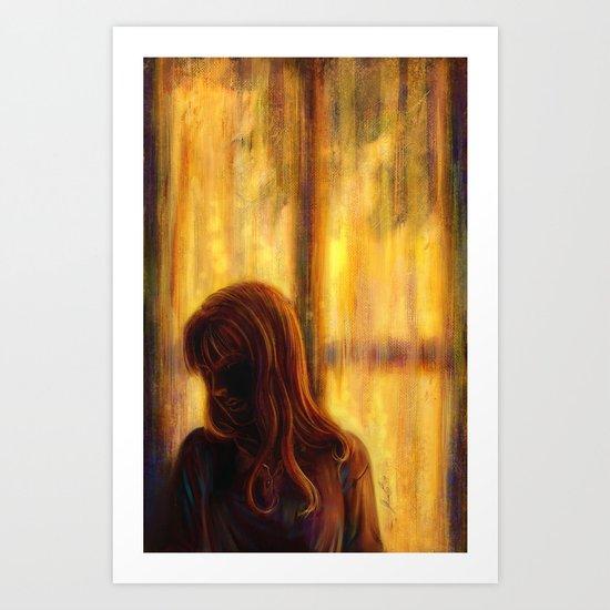 Under the Window Art Print