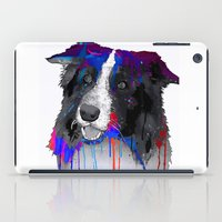 border collie iPad Cases featuring Border Collie by Marlene Watson