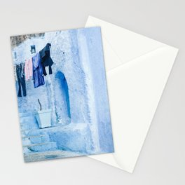 Laundry Day in Chefchaouen, Morocco Stationery Cards