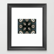 keystrokes 4 Framed Art Print