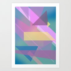 Abstract Pattern Design 1  Art Print