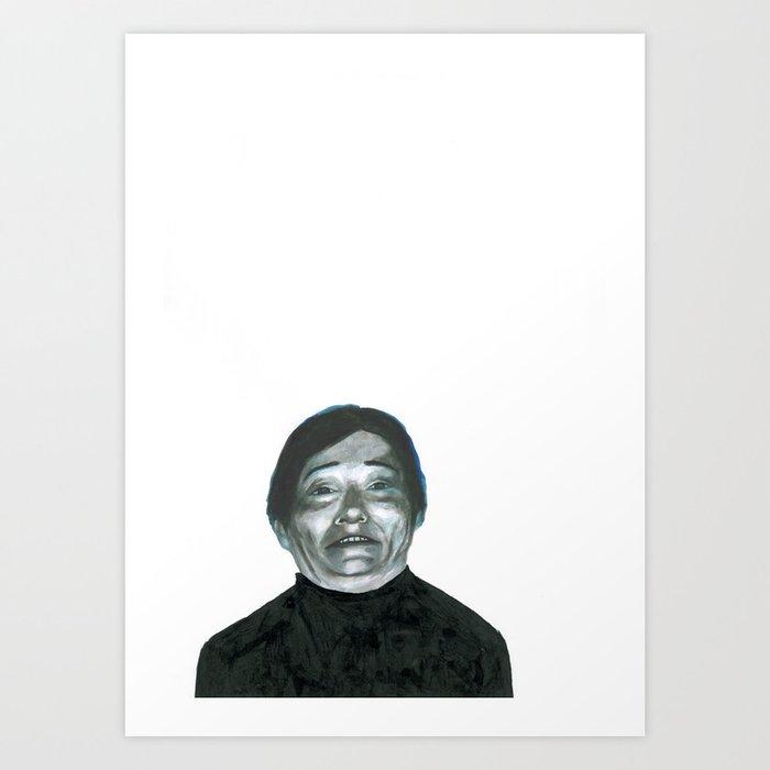 Au travail 2 Art Print