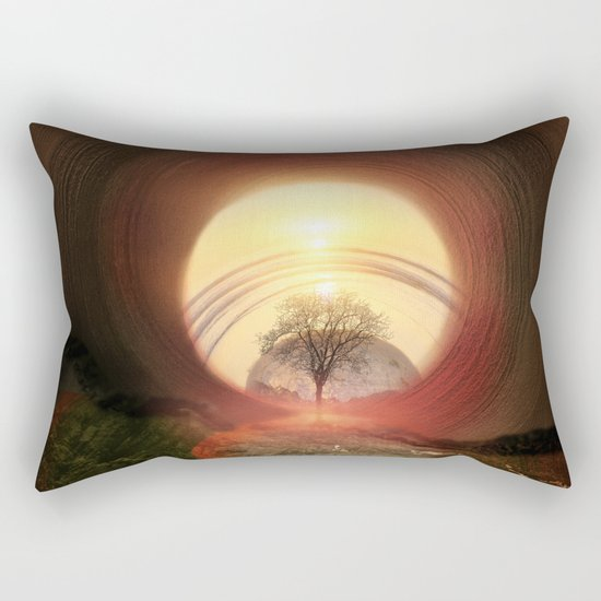The Gate Rectangular Pillow