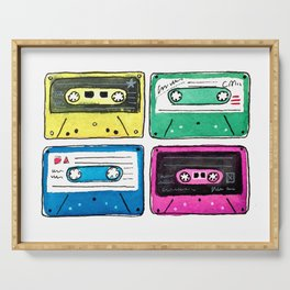 Cassettes Serving Tray