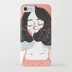 Drowning in Thoughts iPhone 7 Slim Case