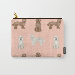Labradoodle dog breed pet pattern labradoodles Carry-All Pouch