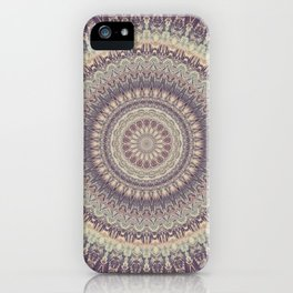 Mandala 537 iPhone Case