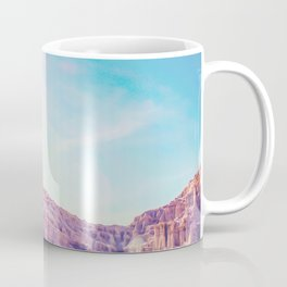 cactus at the desert in summer with strong sunlight Coffee Mug