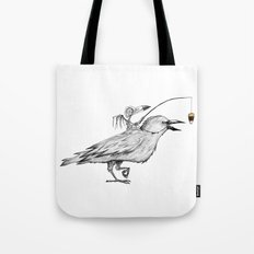 Bird Brain Tote Bag