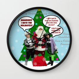 Danny Phantom Christmas ornament greeting card Wall Clock